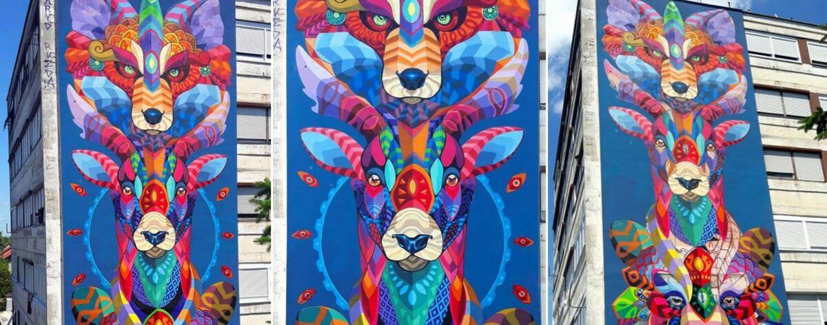 Los mejores murales de artistas mexicanos del 2017