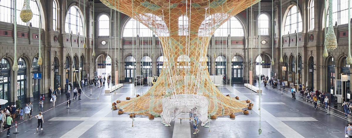 GaiaMotherTree la última instalación de Ernesto Neto
