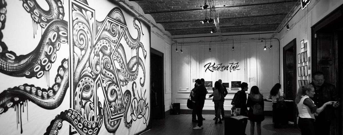 Kraken Ink presenta ganador en Galería Panteón CDMX