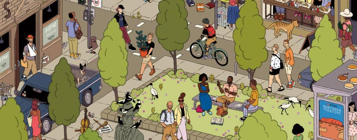 Ilya Milstein y sus ilustraciones que detallan a la sociedad