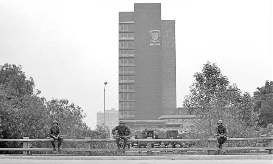 Fotografía realizada en 1968 por Bob Schalkwijk