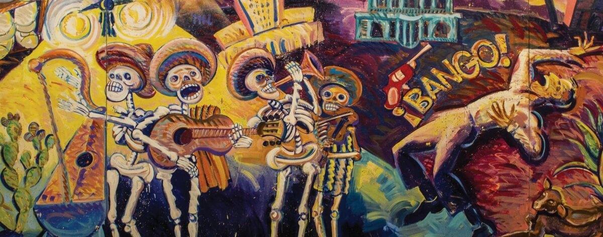 Arte chicano en el Museo de Arte Carrillo Gil