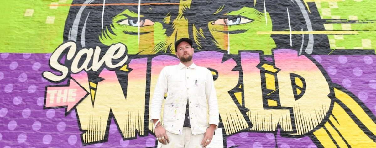 D*Face presenta auto artístico en feria de arte