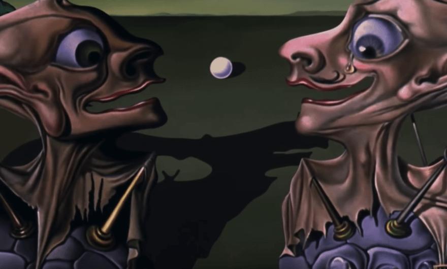 Fragmento del cortometraje Destino de Dalí con Disney