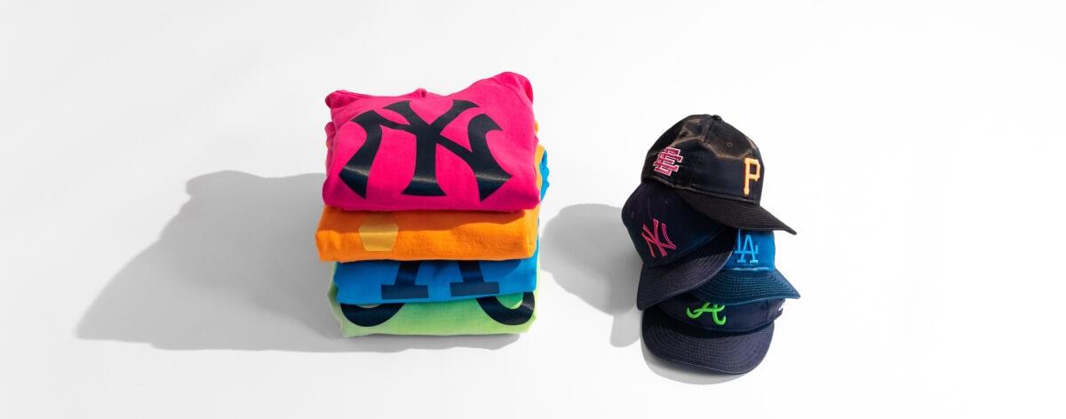 New Era y Eric Emanuel con colección inspirada en las Grandes Ligas