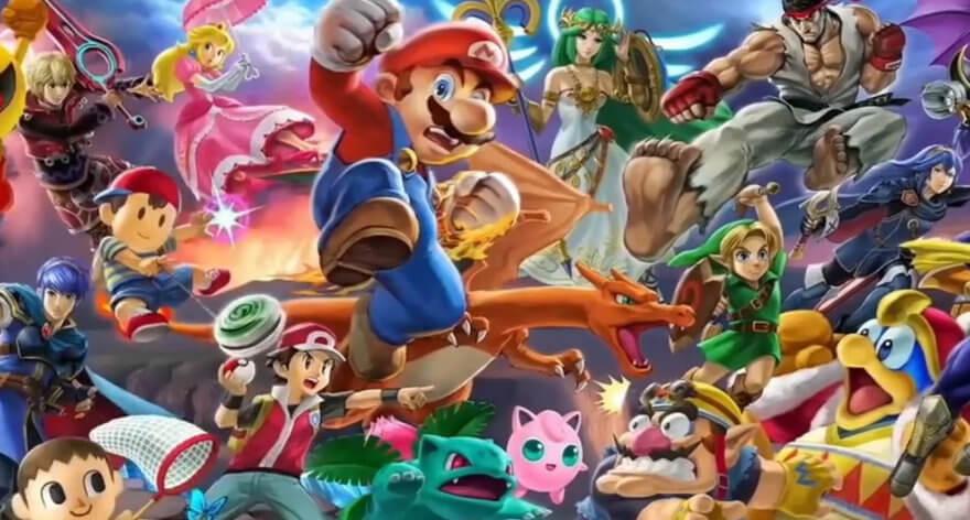 Suoer Smash Bros es pirateado