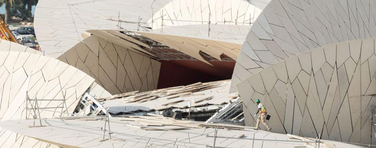 Museo Nacional de Qatar abrirá sus puertas en 2019