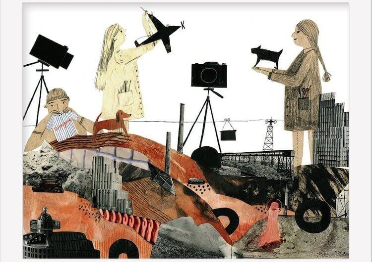 Isle of Dogs Art Show - Chelsea O'Byrne, Trash Island