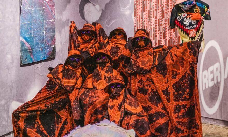 Performance de Alexandre Bavard Bulky - Guang Dong - La casa creativa JustKids lo invitó a una residencia artística