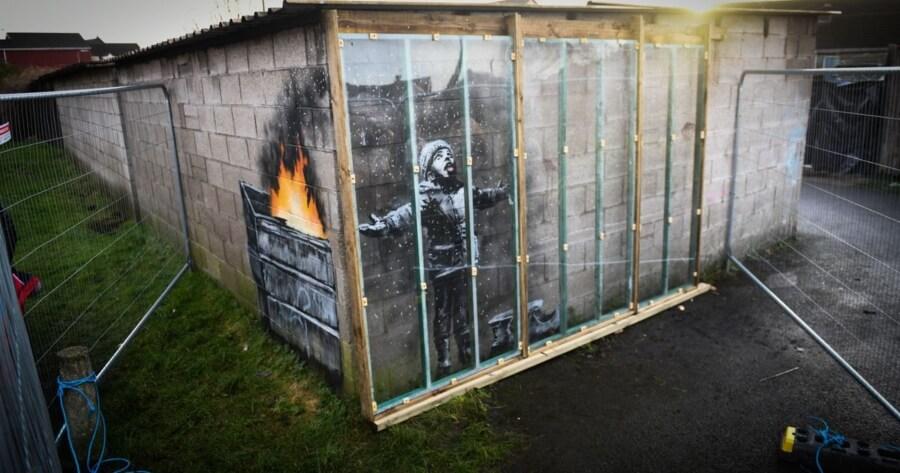 Última obra confirmada de Banksy
