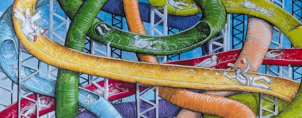 Blu sorprende con un controvertido mural