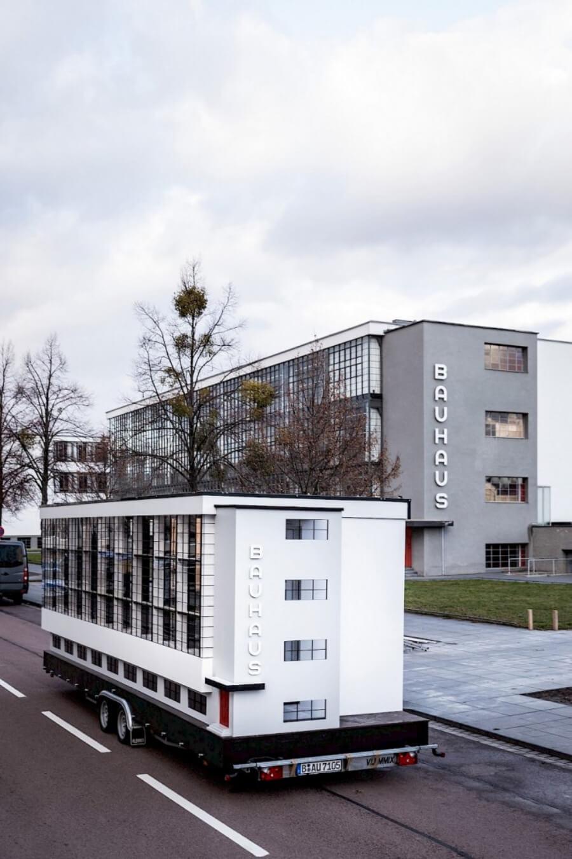 El autobus de Bauhaus