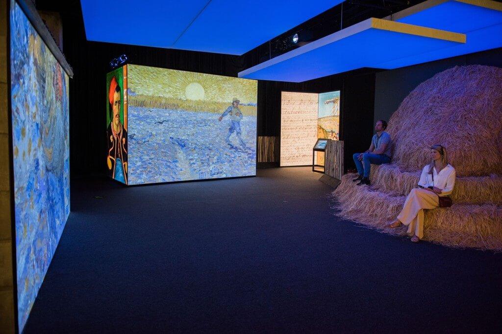 Exposición de Van Gogh Meet Vincent Van Gogh Experience 3