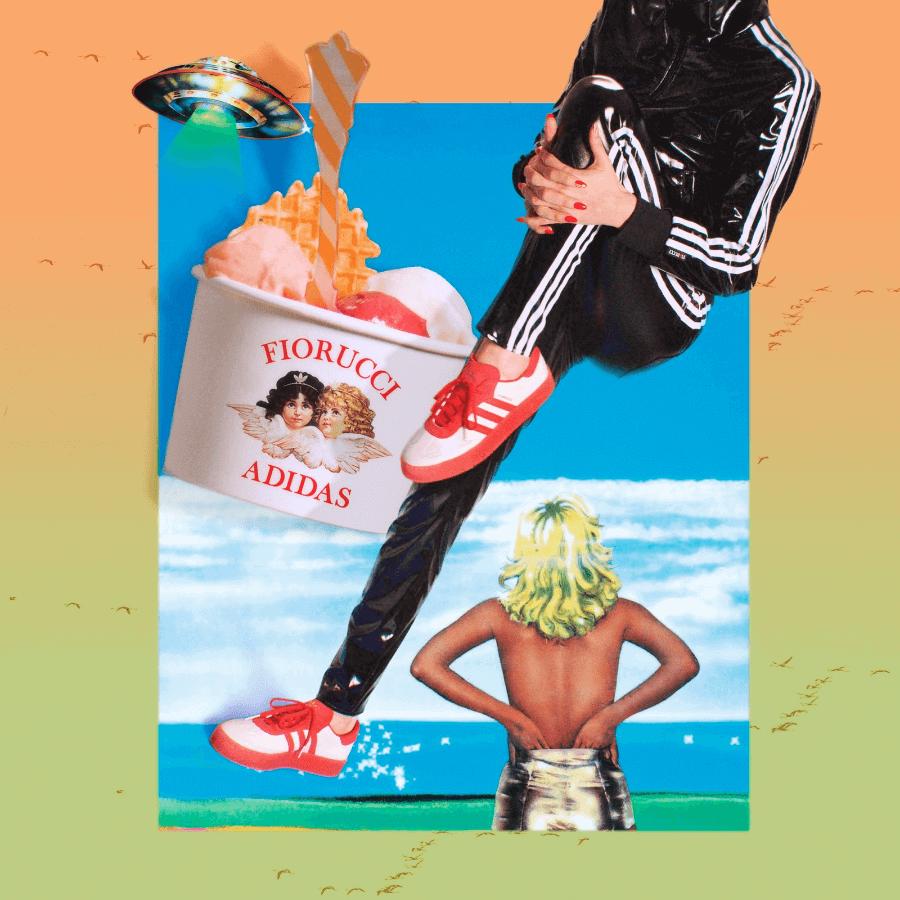 Colección de Firucci y Adidas