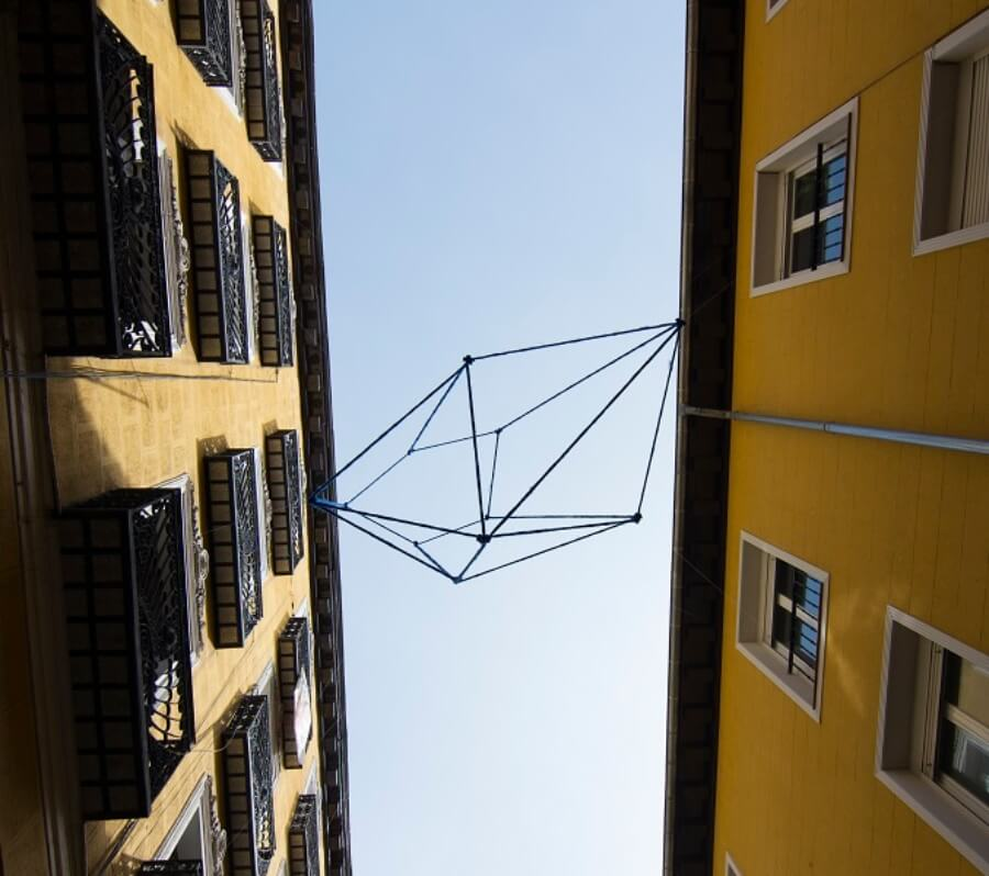 Instalación de obras en Madrid