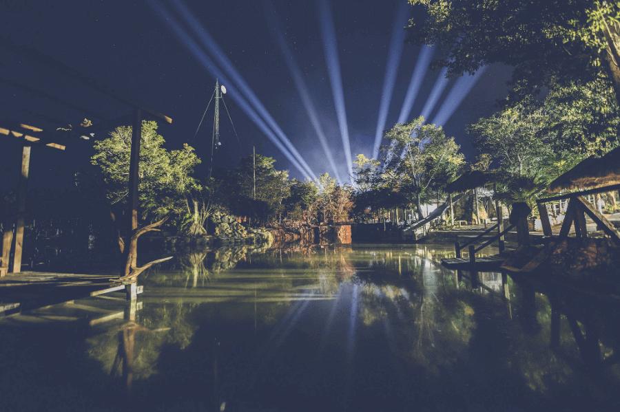 Cenote del hotel Zanma en Tulum
