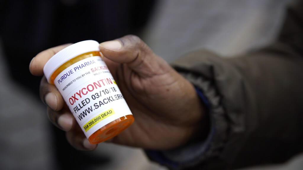 bote de pastillas de Oxycondin