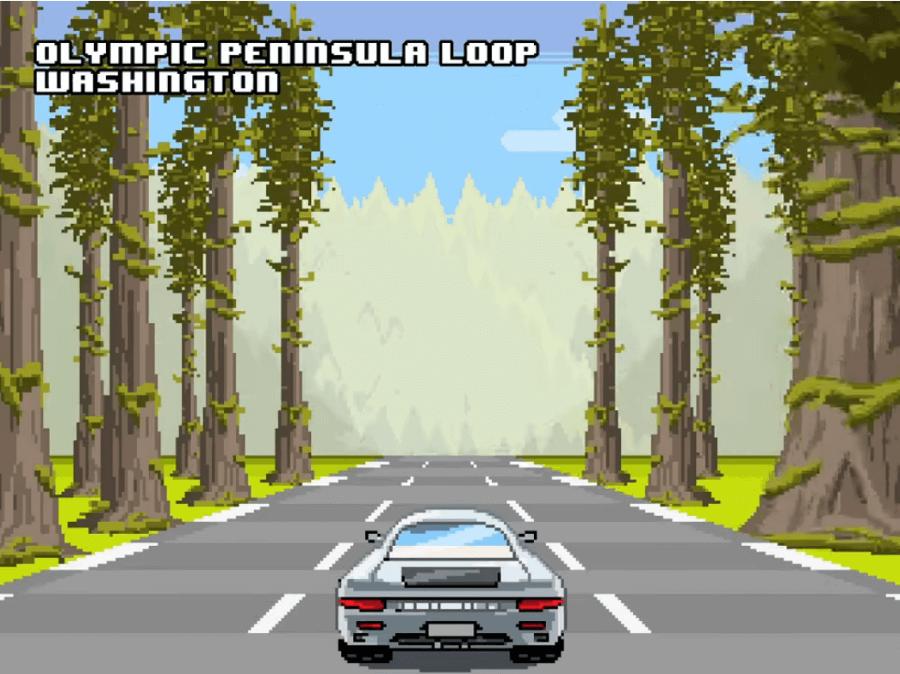 Apariencia de las carreteras en 8 bits de NeoMam Studios