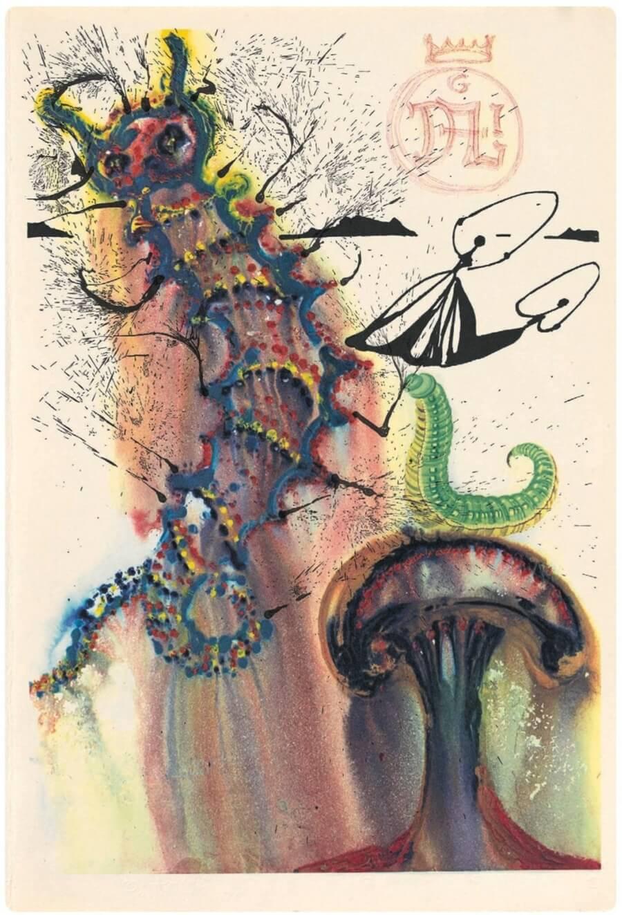 Ilustraciones de Dalí para la novela de Lewis Carol se publican