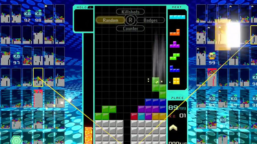 Tetris 99 de Nintendo Swtch