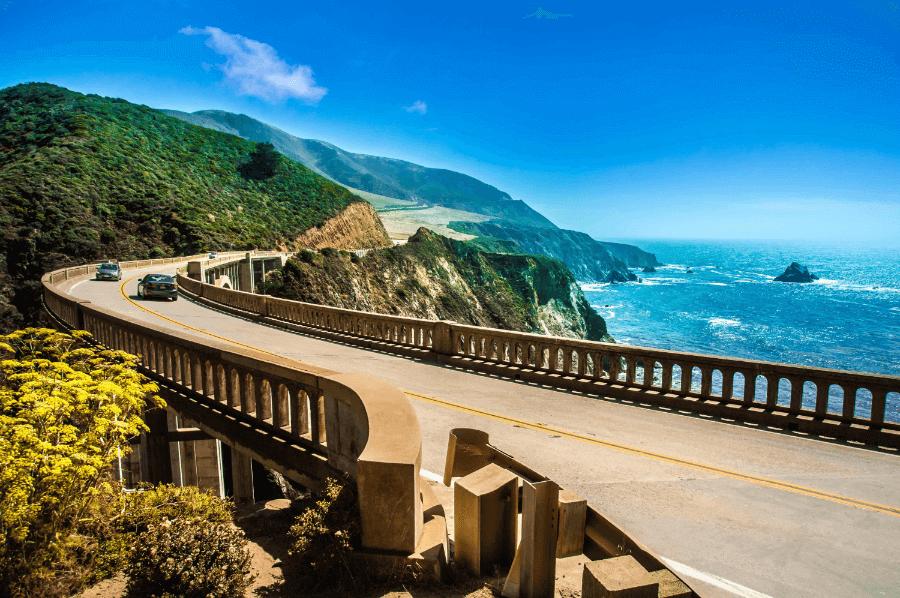 Carretera Big Sur en California