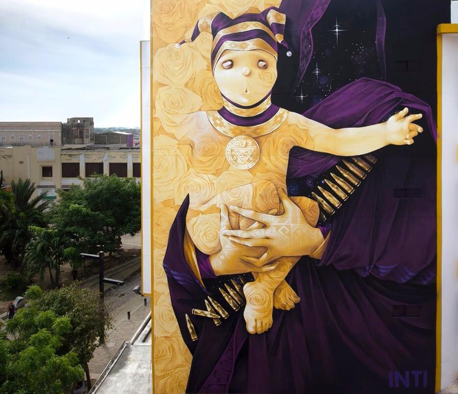 Cuatro Murales De Inti Pintados En Mexico Y Sudamerica All City
