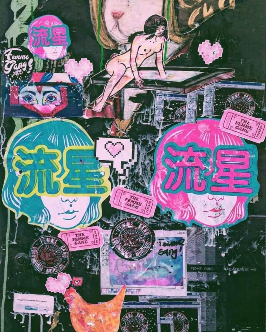 Obra de Arte Femme Gang