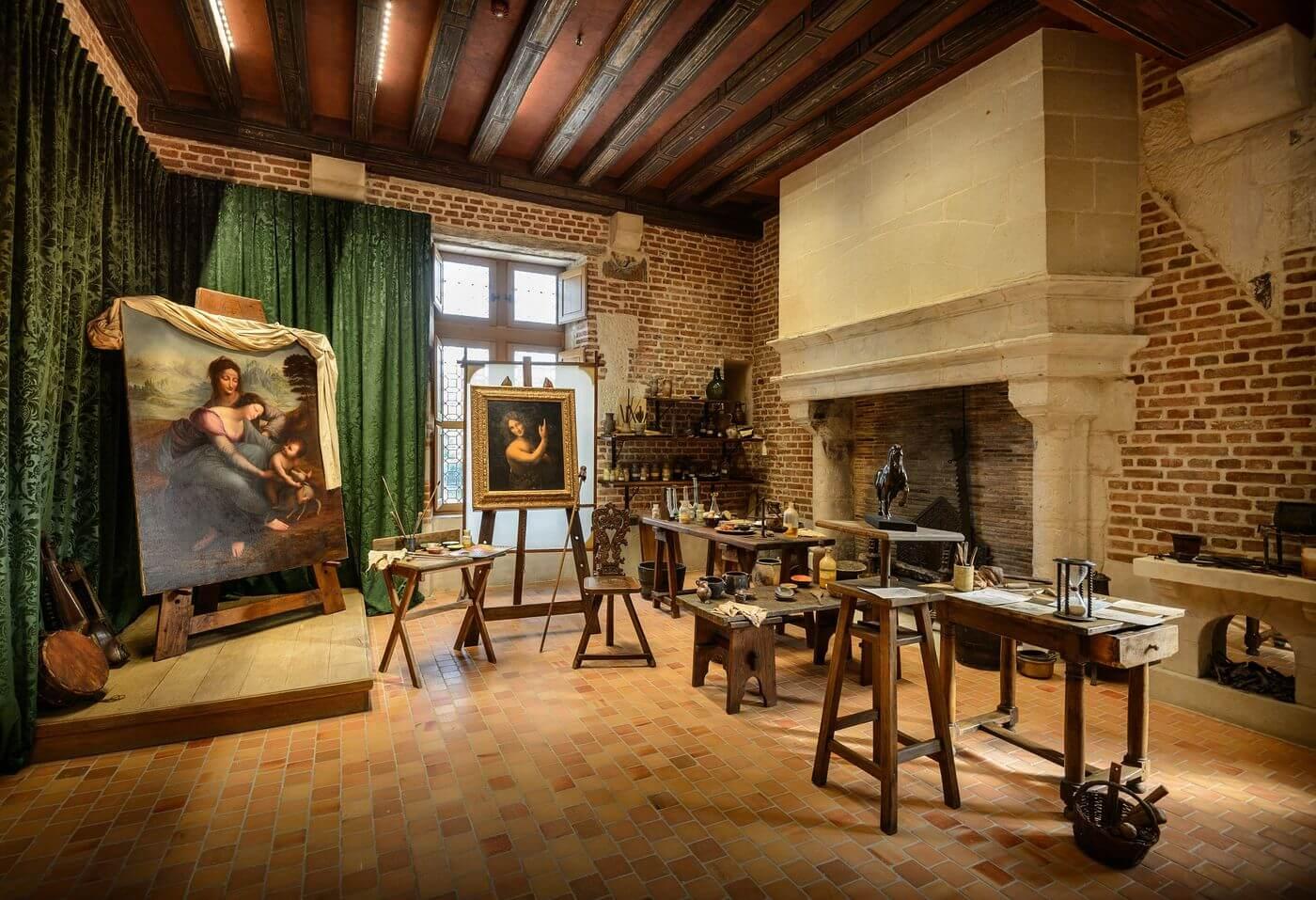 Leonardo da Vinci Exposición en el Museo de Louvre
