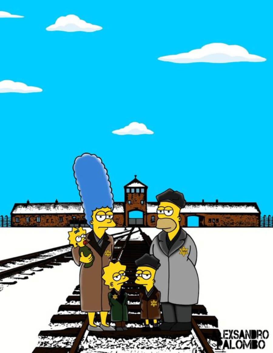 Los Simpson campo de concentración