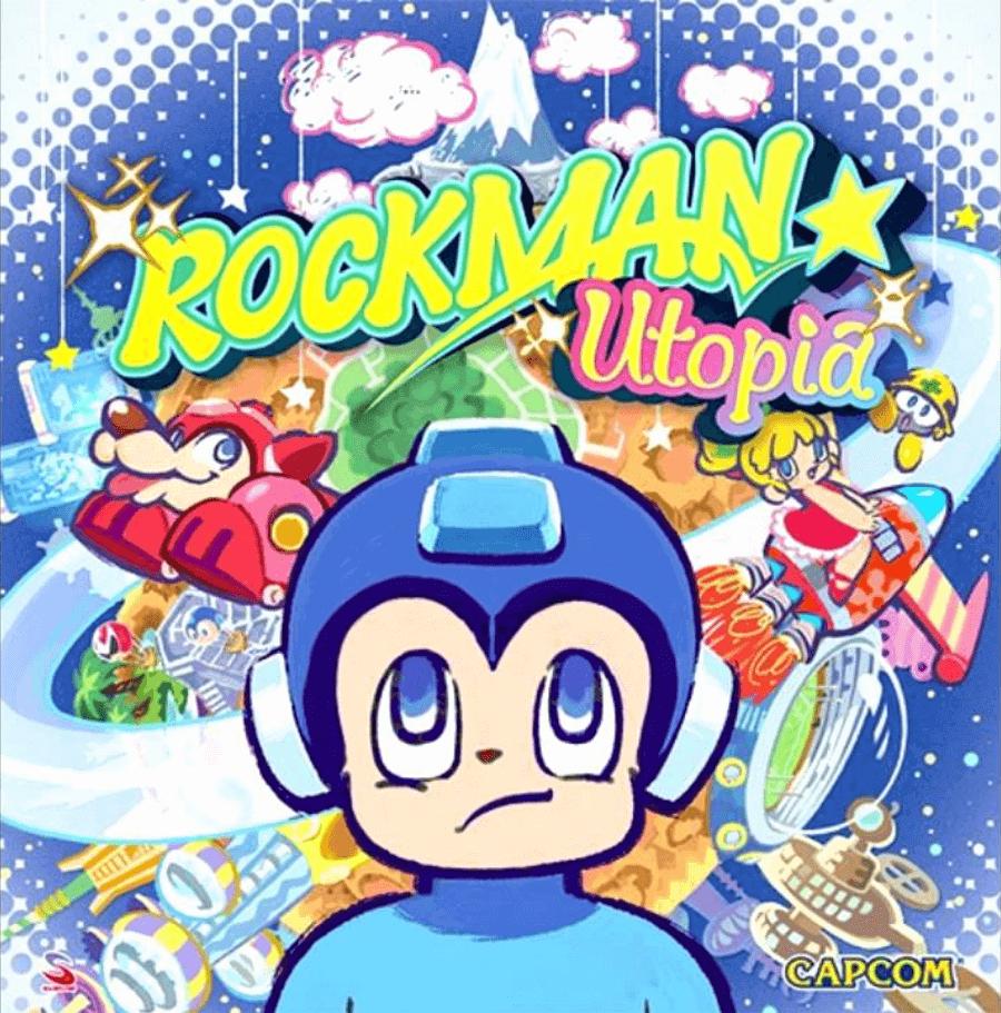 Portada del soundtrack del videojuego de Megaman