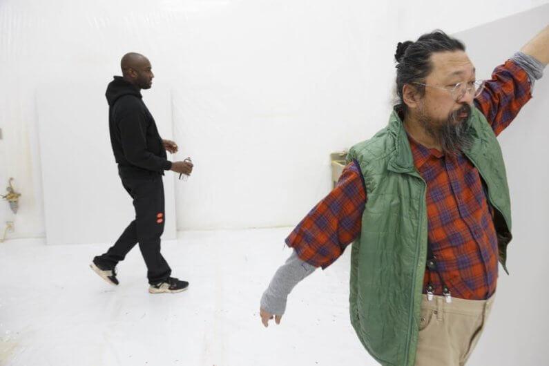 Takashi Murakami y Virgil Abloh